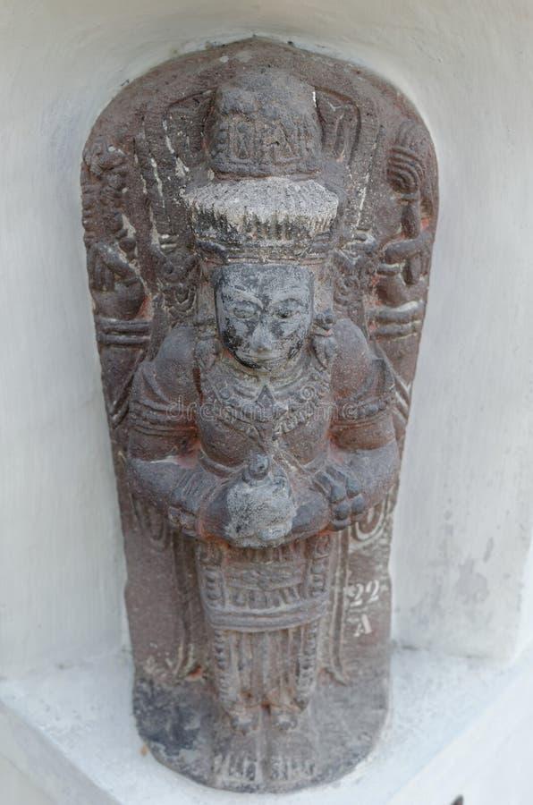 Statyn av Shiva royaltyfria foton