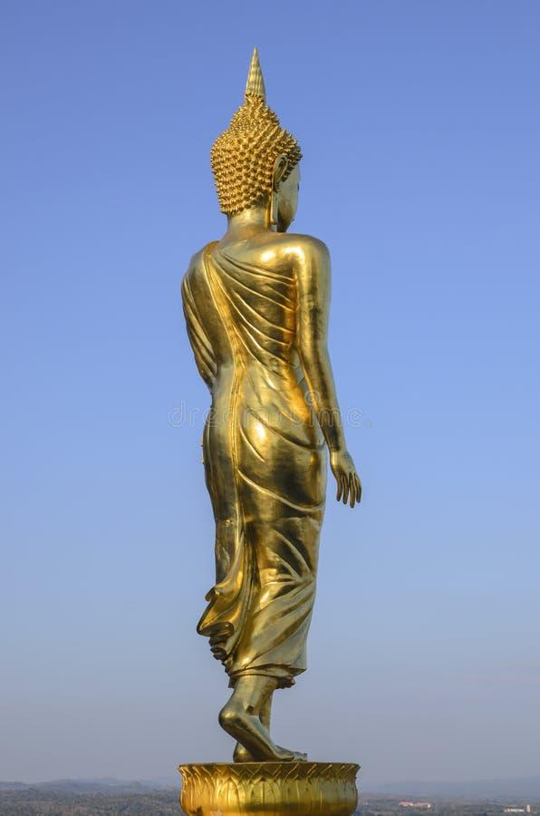 Statywowy złocisty Buddha obrazy royalty free