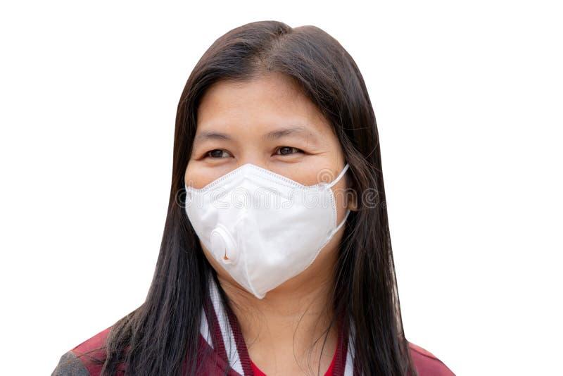 Staubschutzmaske stockbild