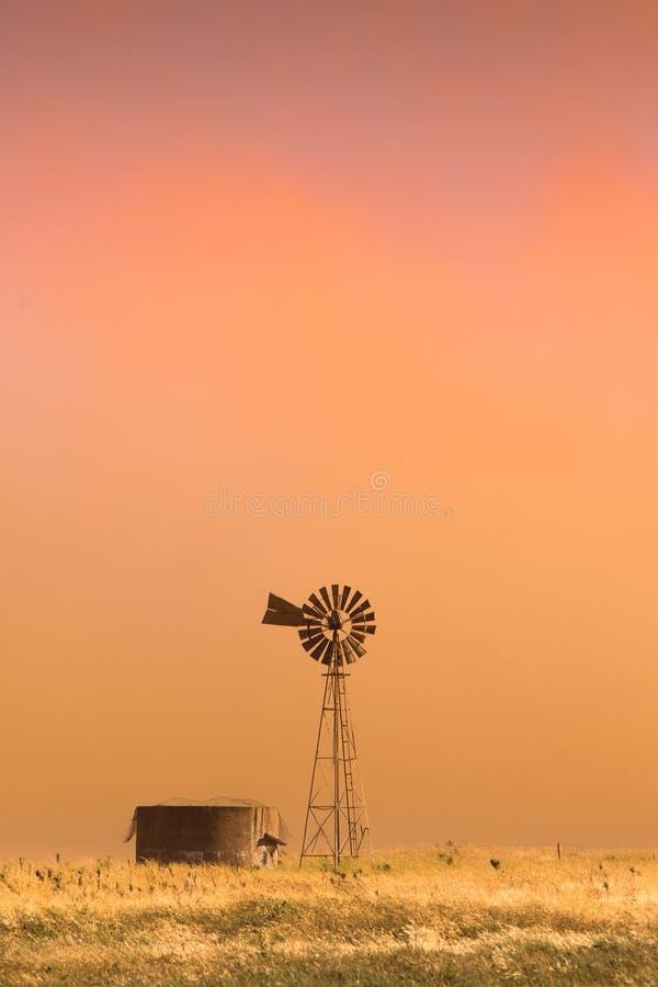 Staubsturm stockfoto