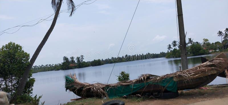 Stauwasser in Kerala stockfoto