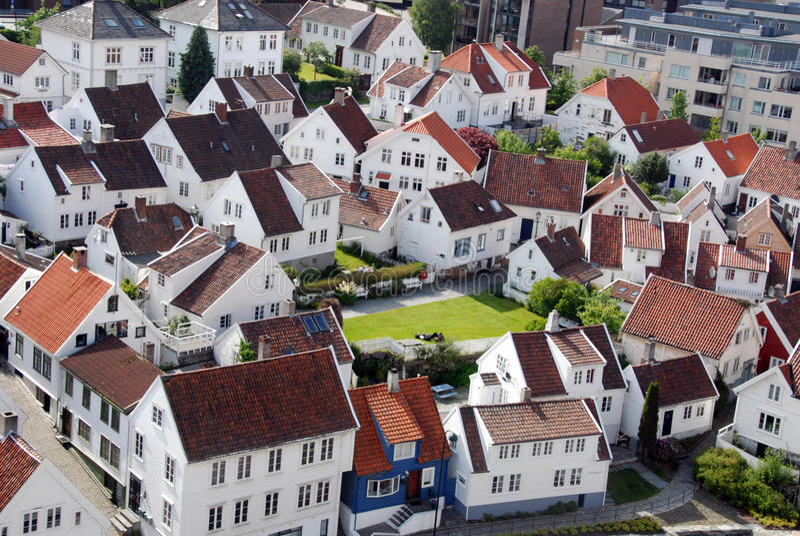 Stavanger 3, Norwegen stockfoto