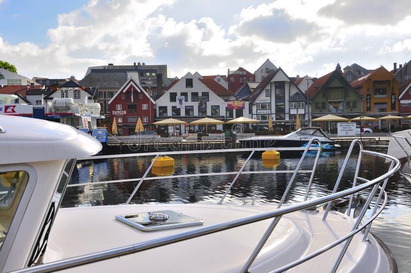 Stavanger Noorwegen stock foto's