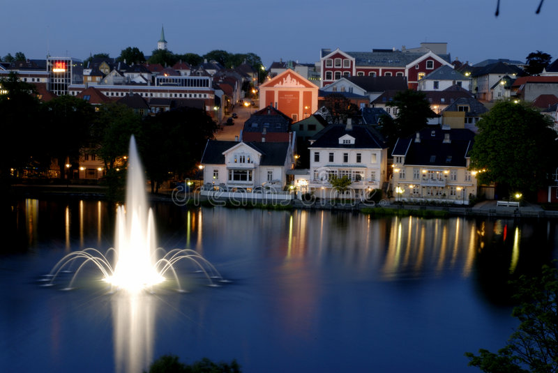 Stavanger, Norway royalty free stock images