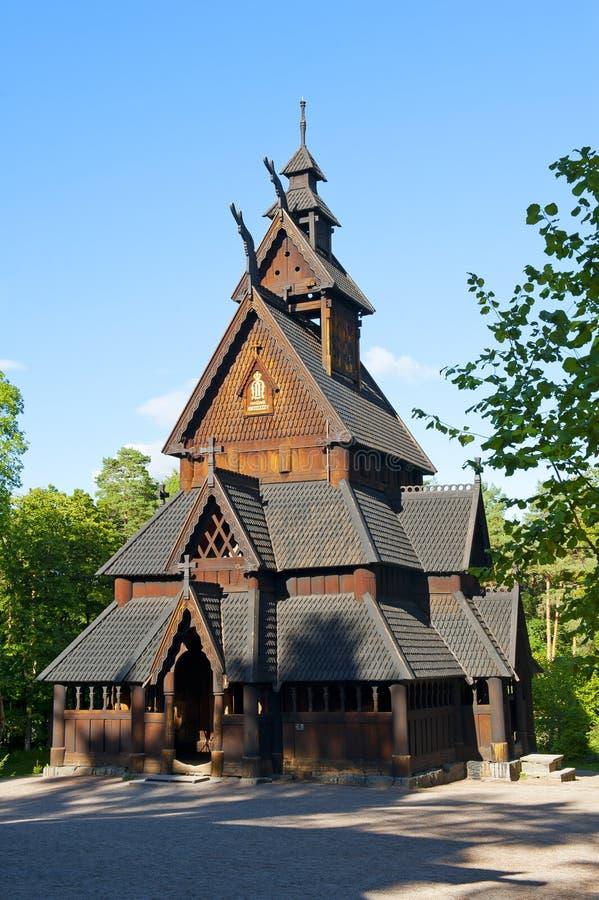 stave церков стоковое изображение