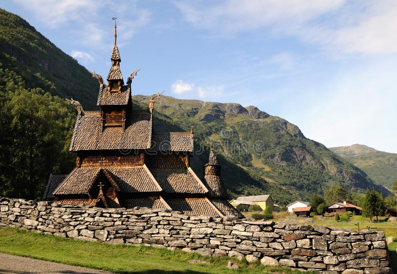Download Stave church stock image. Image of building, outdoor, europe - 8455657