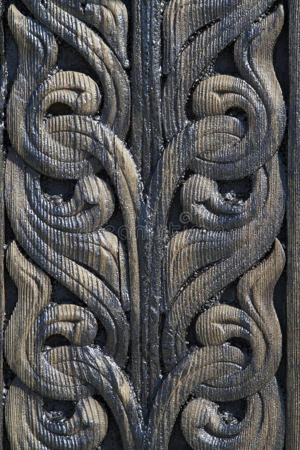 Stave Church Detail lizenzfreie stockfotografie