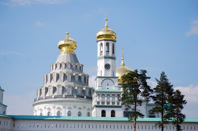 Stavropigialny Kloster Auferstehungs-neues Jerusalems Ort des Interesses der Stadt von Istra stellte nahe Moskau auf Russland lizenzfreie stockbilder