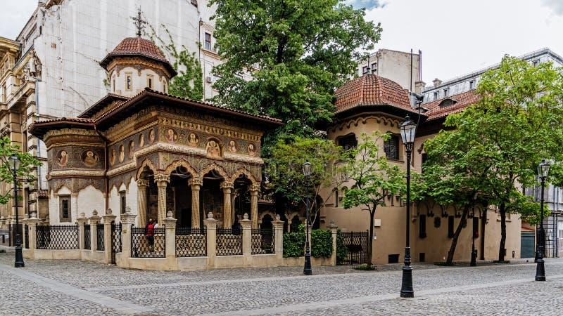 Stavropoleos Kloster stockfotografie