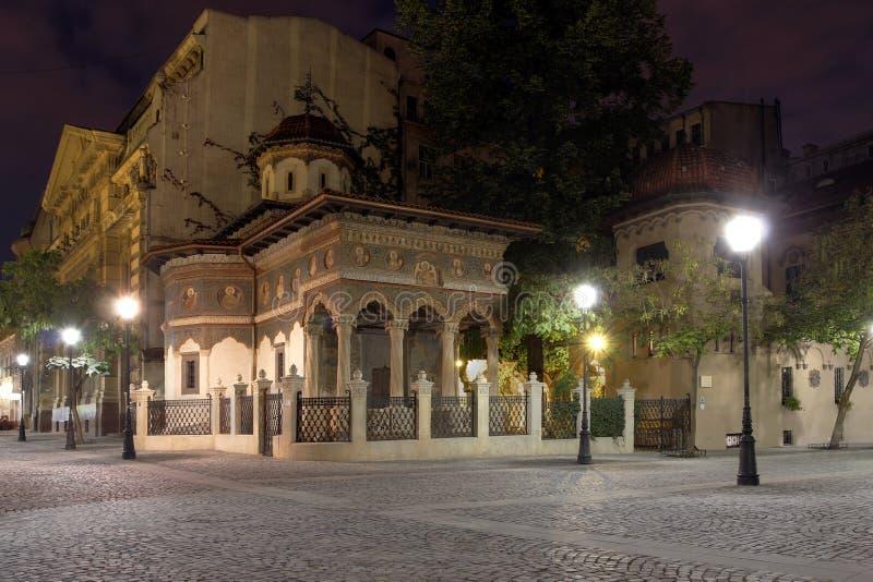 Stavropoleos-Kloster, Bukarest, Rumänien stockbild