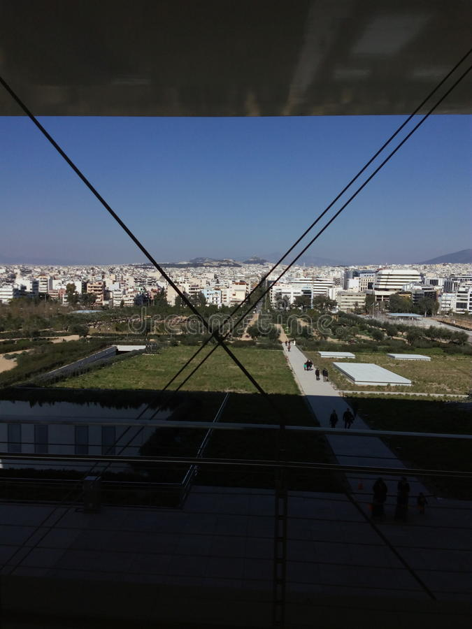 Stavros Niarxos Balcony fotografia stock libera da diritti