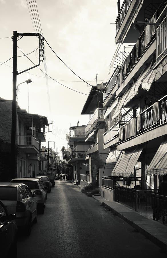 Download Stavros Town en Grecia imagen de archivo. Imagen de grecia - 100533063