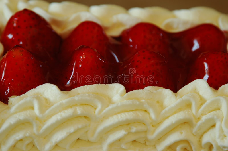 Stawberry Shortcake lizenzfreies stockfoto