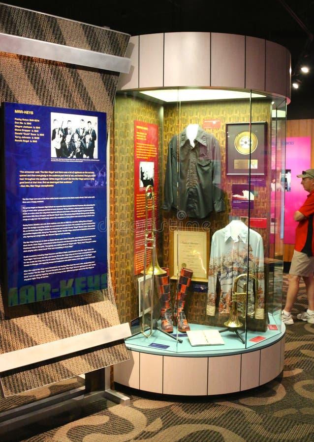 Stax antecknar museet av musikutställningen royaltyfri foto