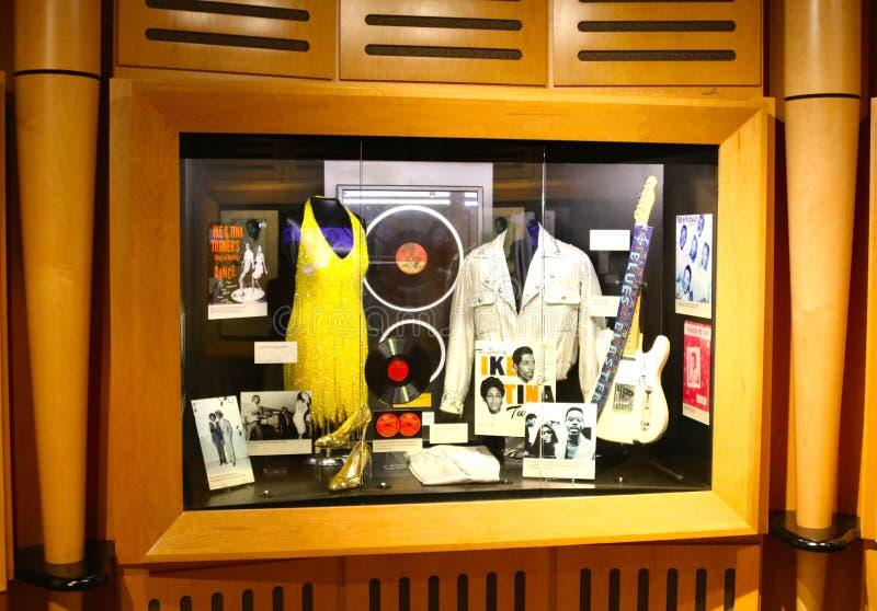 Stax grava o museu da exibição da música foto de stock royalty free
