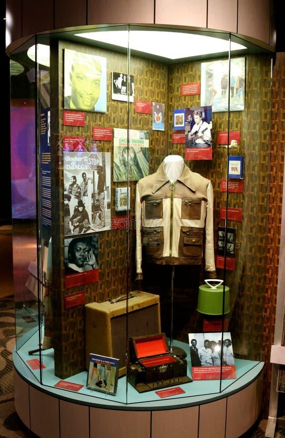 Stax grava o museu da exibição da música imagens de stock royalty free