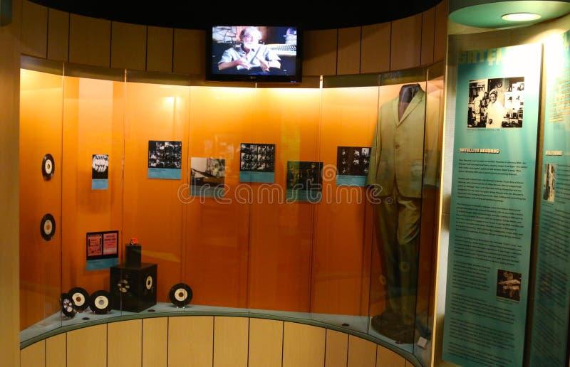 Stax grava o museu da exibição da música fotografia de stock royalty free