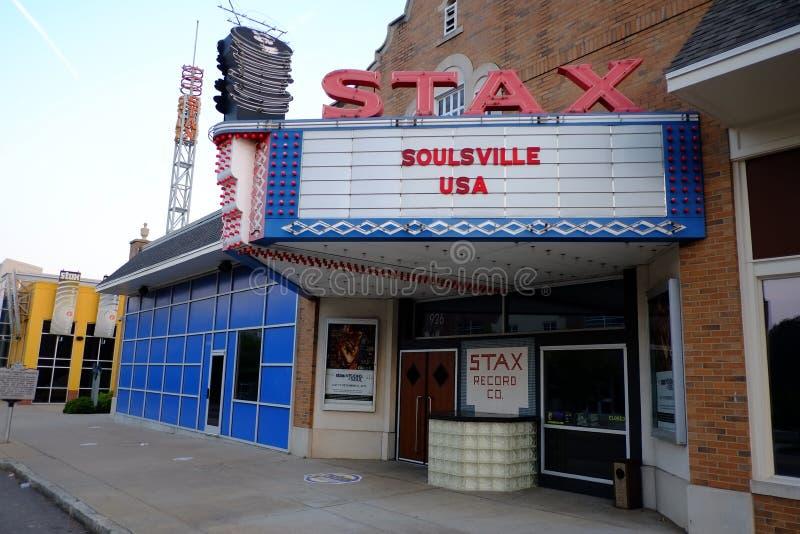 Stax registra el museo, Memphis, TN imagen de archivo