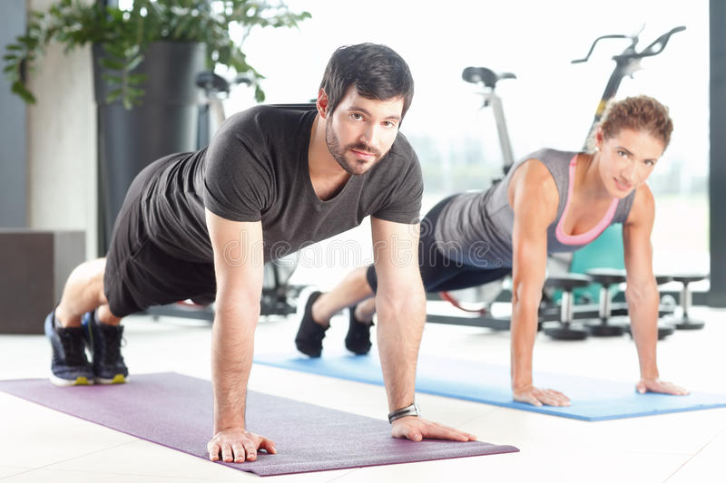 Stay fit at gym royalty free stock image
