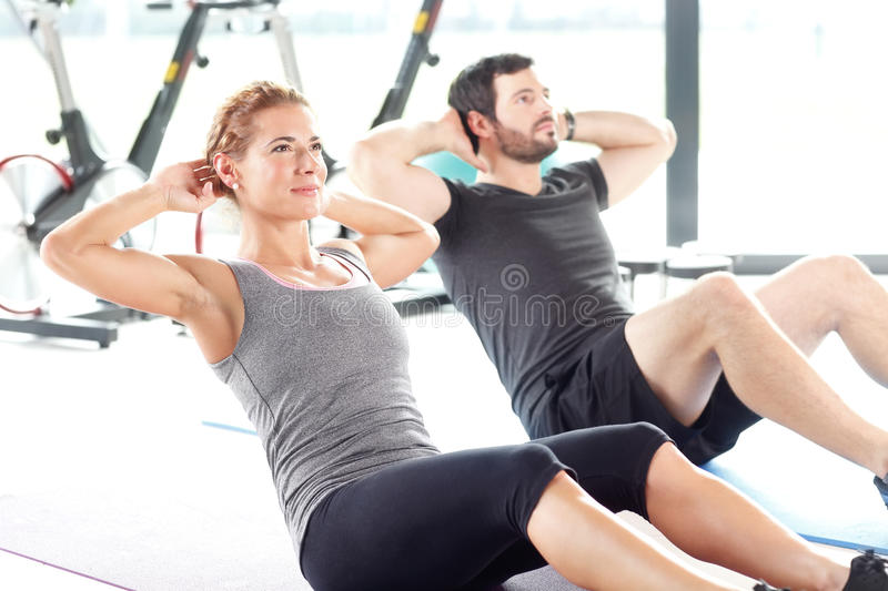 Stay fit royalty free stock photo