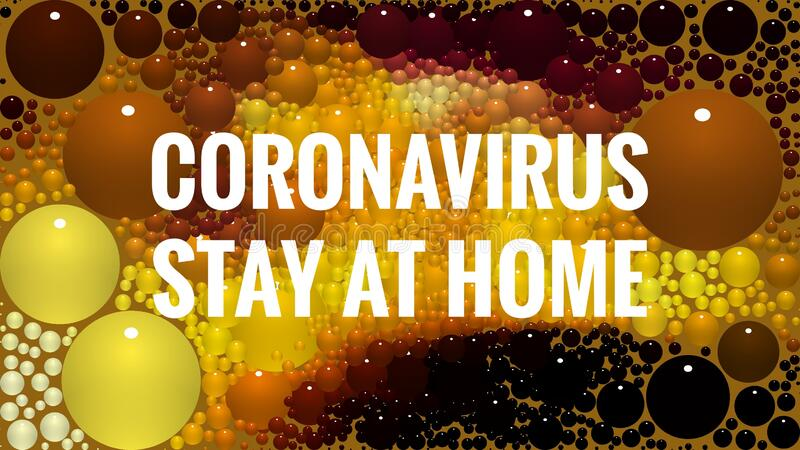Stay At Home Alert. Stay At Home Covid stock photo