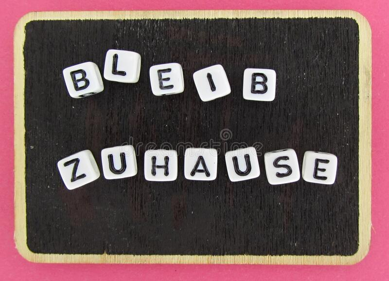 Stay Home Deutsch