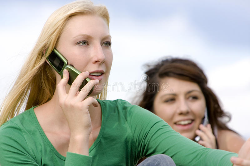 Staying In Touch Stock Image