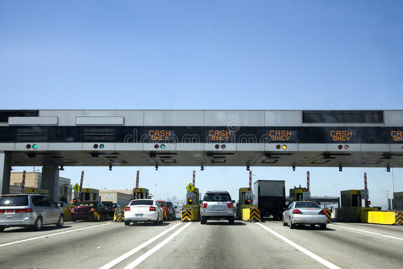 Stazione autostradale fotografie stock libere da diritti
