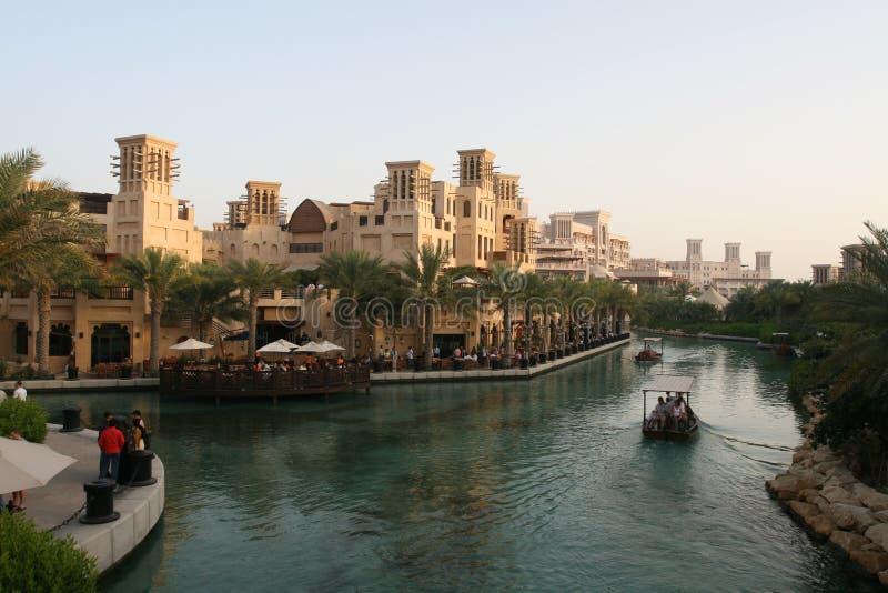 Stazione balneare di Jumeirah fotografia stock libera da diritti