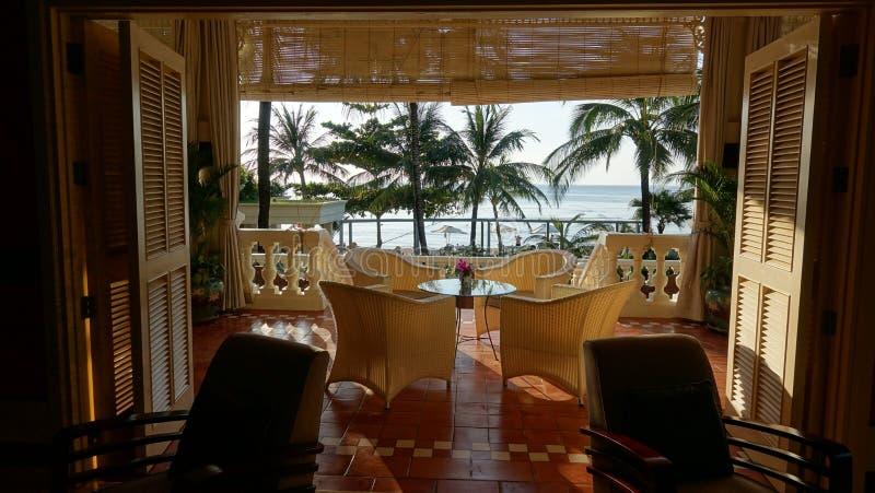 Stazione balneare nell'isola di Phu Quoc immagine stock