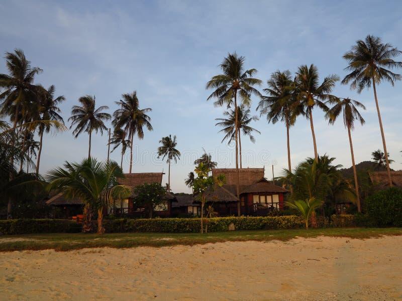 Stazione balneare sul KOH di PhiPhi fotografia stock
