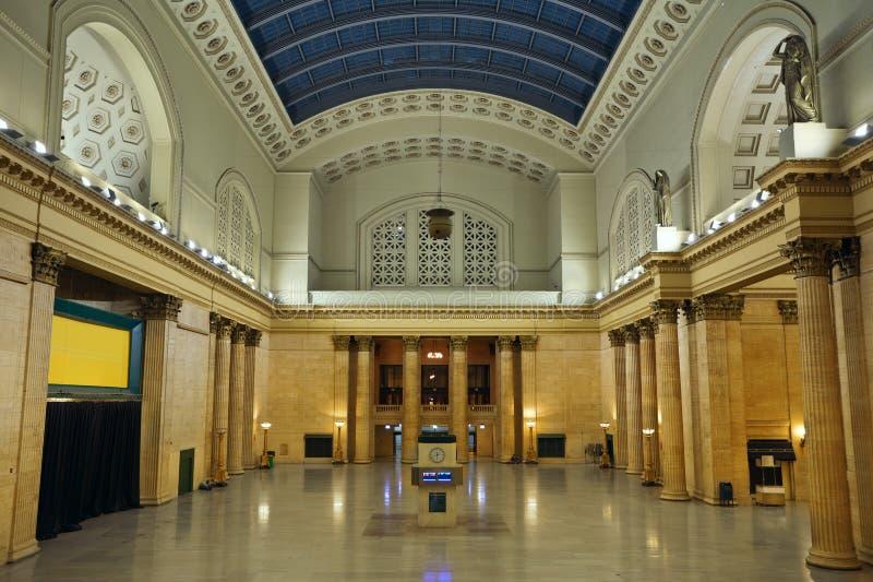 Stazione Chicago del sindacato. fotografie stock libere da diritti