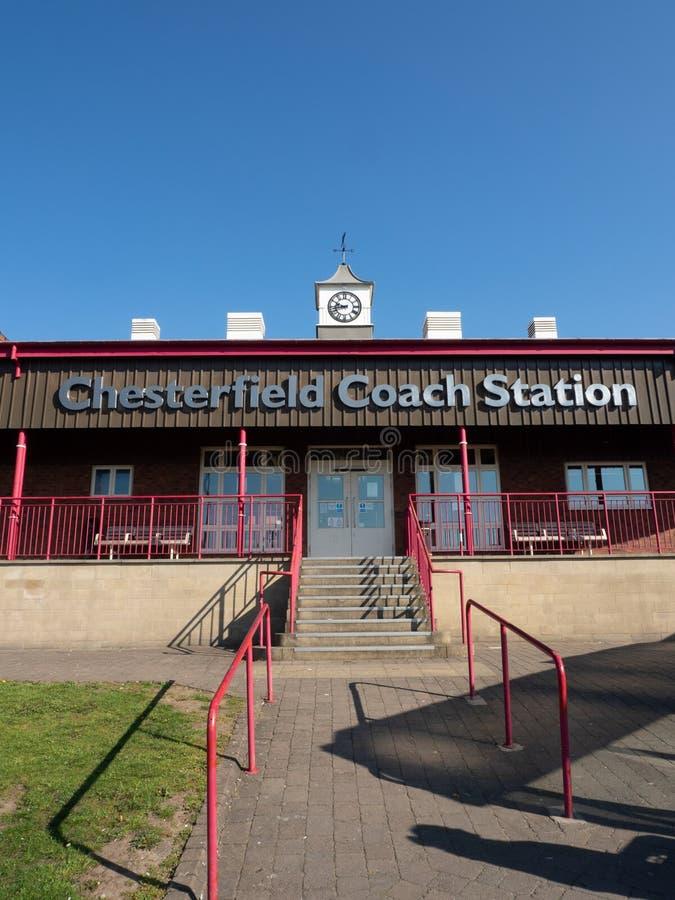 Stazione del bus e di vettura di Chesterfield immagine stock libera da diritti