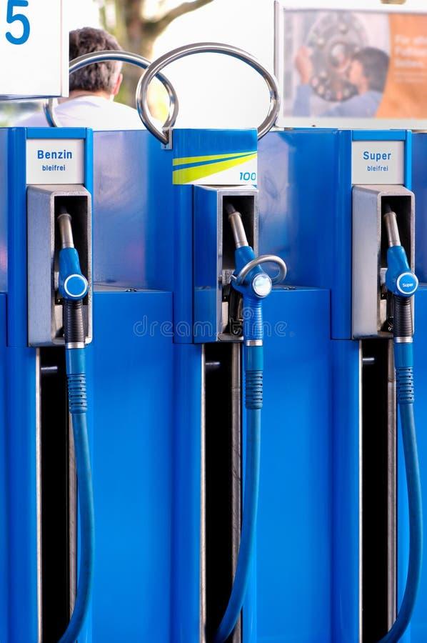Stazione del combustibile fotografia stock