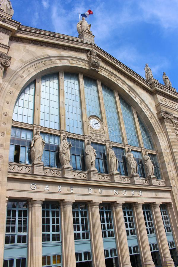 Stazione del nord di Parigi, Gare du Nord a Parigi immagini stock
