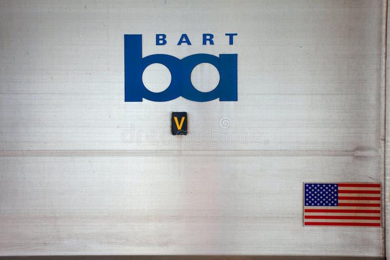 Stazione del San Francisco-Bart immagine stock libera da diritti
