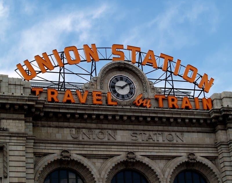 Stazione del sindacato fotografie stock