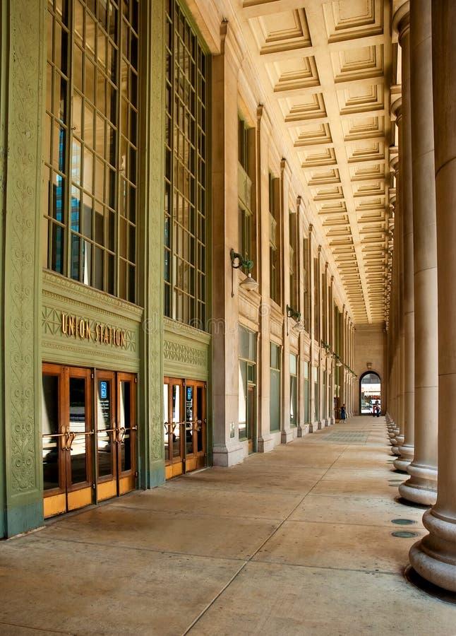 Stazione del sindacato del Chicago   fotografia stock