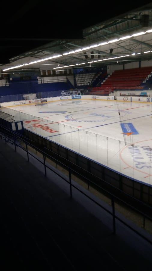 Stazione dell'hockey fotografie stock libere da diritti