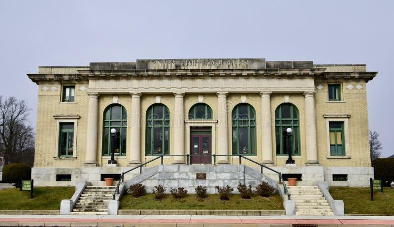 Stazione dell'ufficio postale degli Stati Uniti fotografia stock libera da diritti