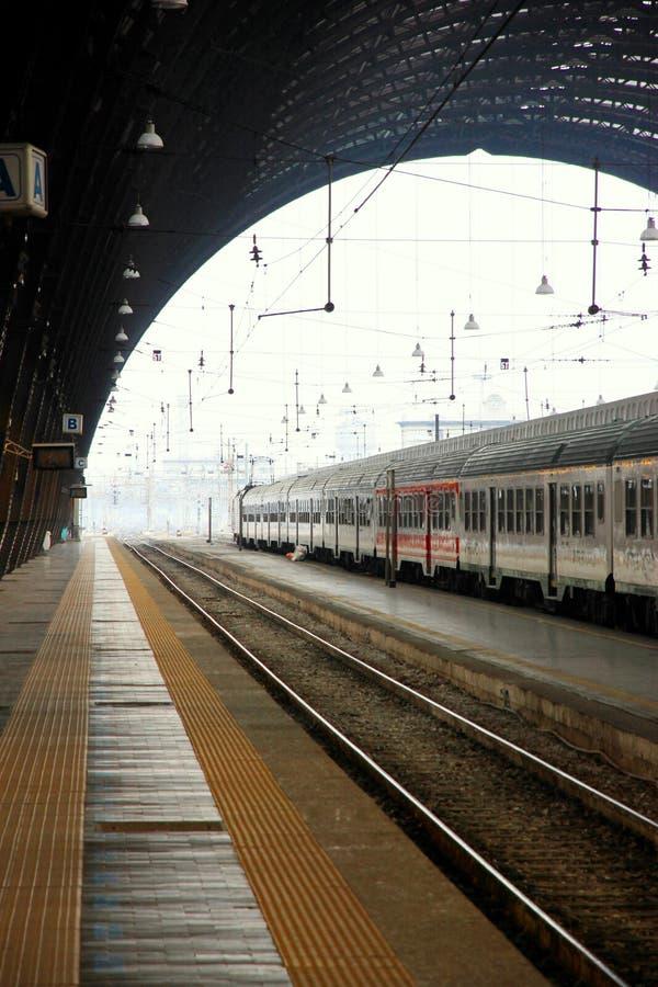 Stazione della centrale di Milano immagini stock libere da diritti