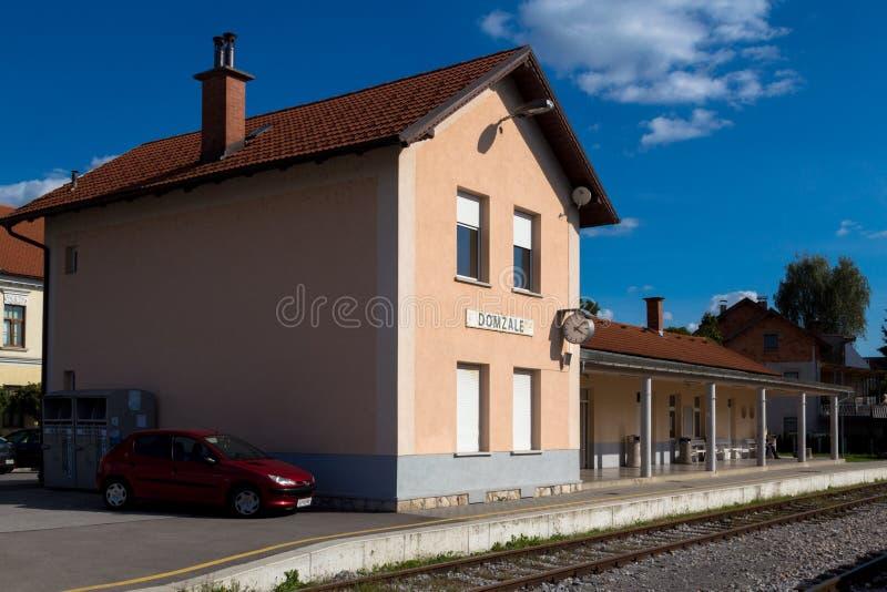 Stazione della città immagine stock libera da diritti