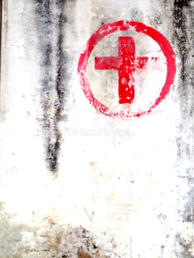 Stazione della croce rossa immagine stock libera da diritti
