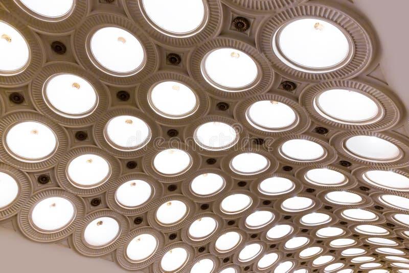 Stazione della metropolitana di Elektrozavodskaya immagini stock libere da diritti