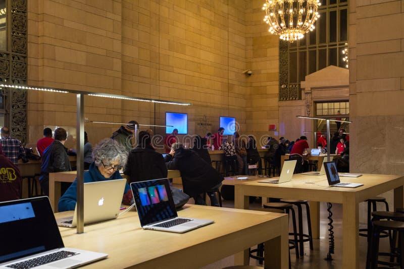 Stazione di Antivari Grand Central del genio di Apple immagine stock