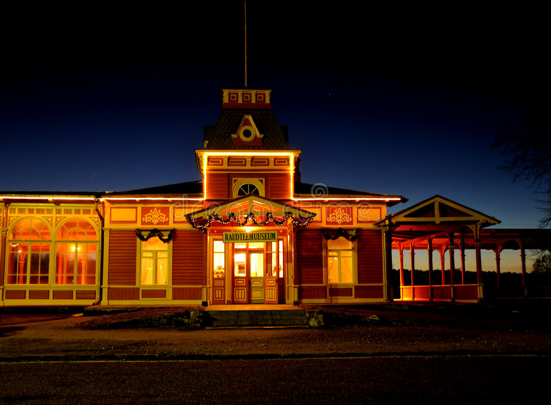 Stazione di ferrovia fotografie stock