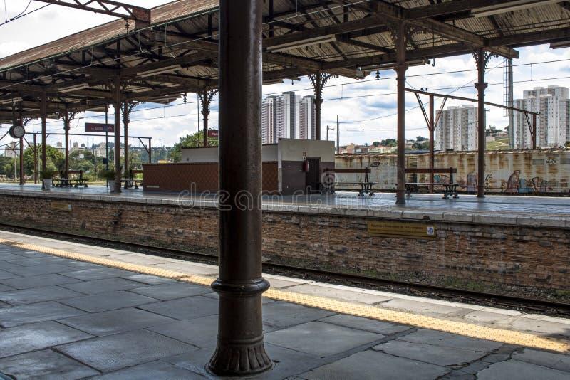 Stazione di Jundiai immagine stock