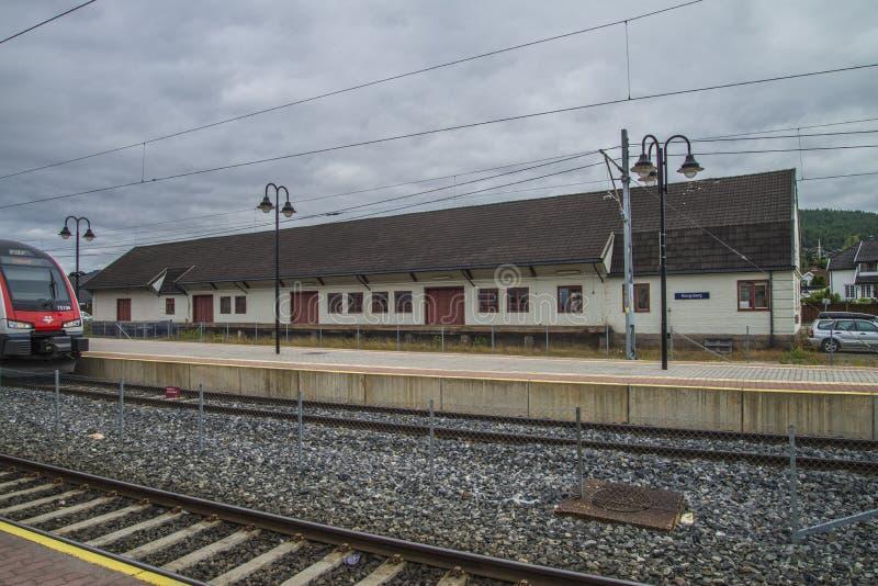 Stazione di Kongsberg fotografia stock libera da diritti