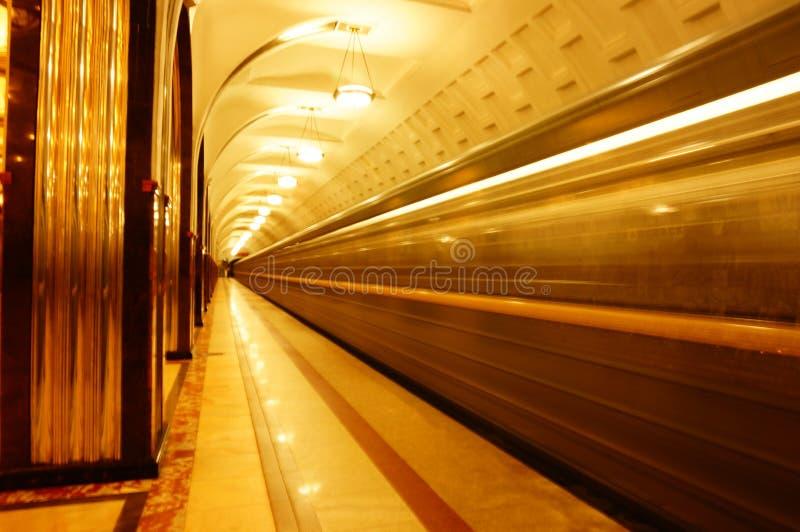 Stazione di Mayakovskata fotografie stock