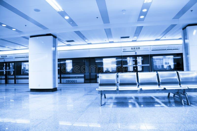 Stazione di metro fotografie stock